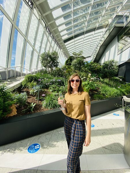 Can you have a drink in the Sky Garden?
