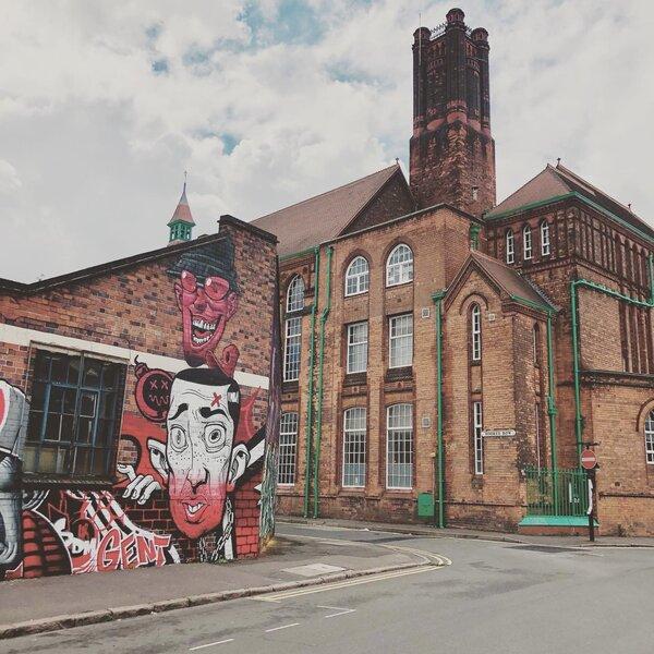 Birmingham day trip - visit Digbeth (Creative Quarter) to see the murals
