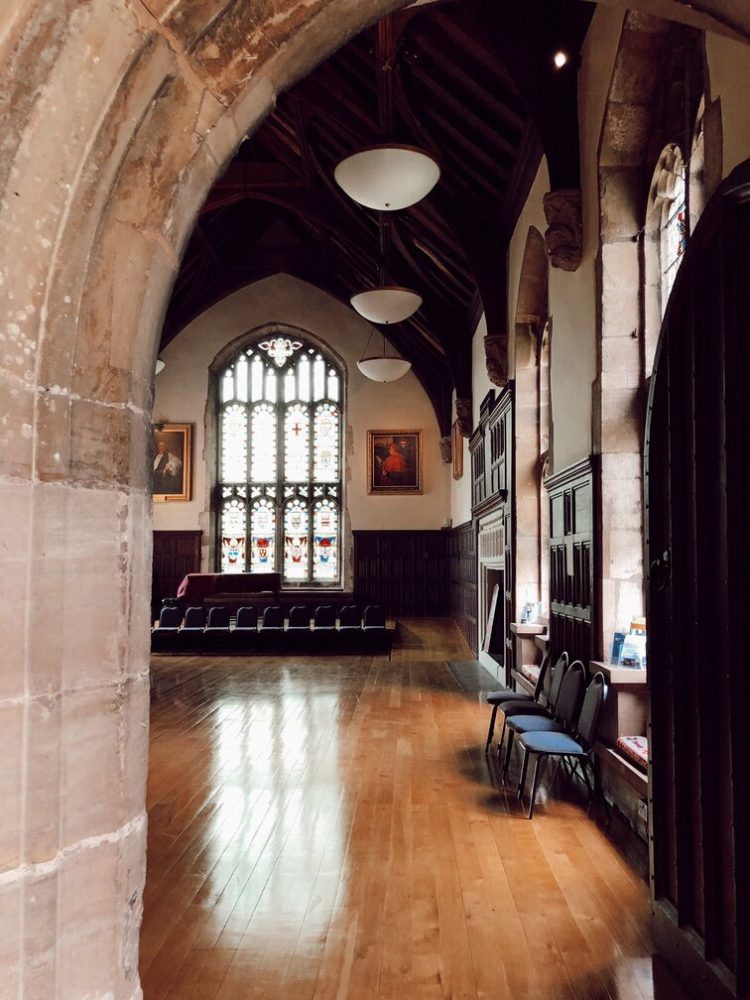 The Grand Old Hall next to the minster is a great place to see in Southwell, Nottinghamshire