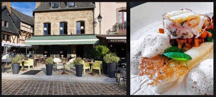 Le P'tit Goustan - a bib gourmand michelin restaurant in Brittany, Auray St Goustan