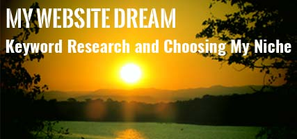 Website Dream Keyword Research
