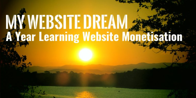 Learning Website Monetisation