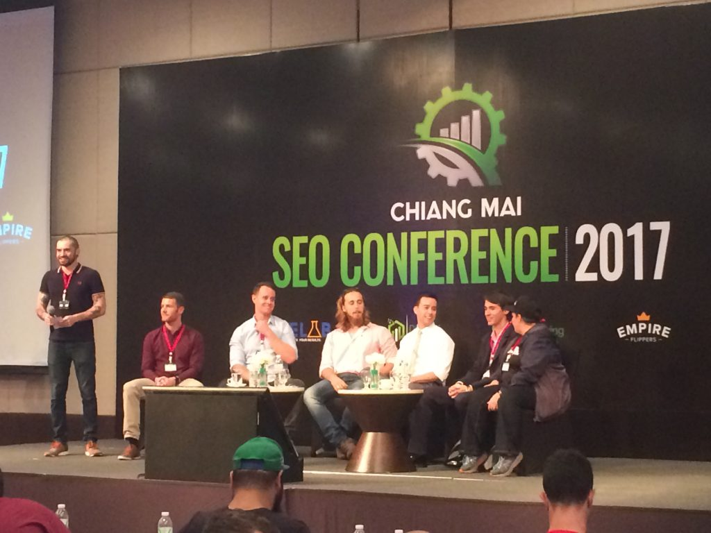 Chiang Mai SEO Conference 2017 Panel
