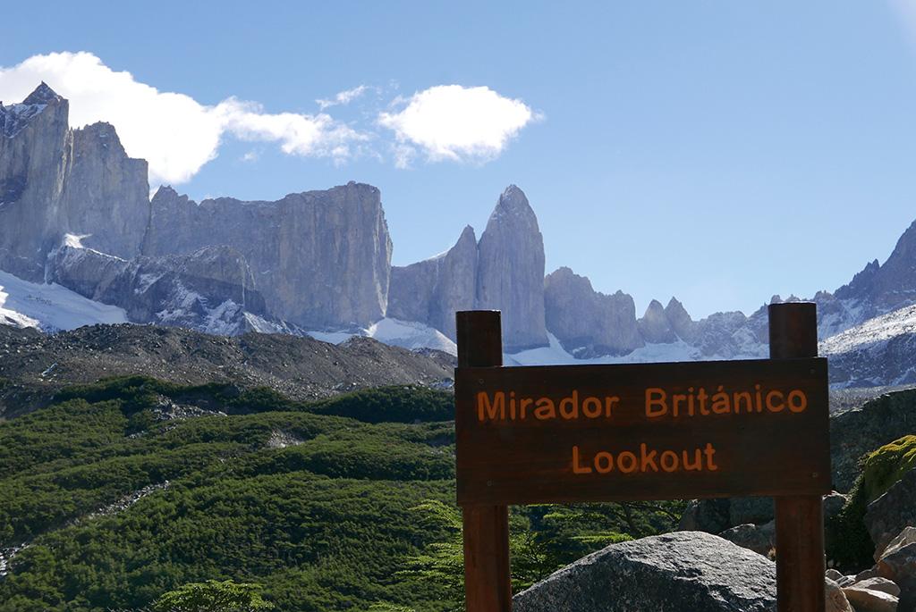 Mirador Britanico Torres Del Paine W Trek