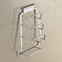 MyLifeUNIT: Wall Mount Pot Lid Organizer Rack, 3-Tier ...