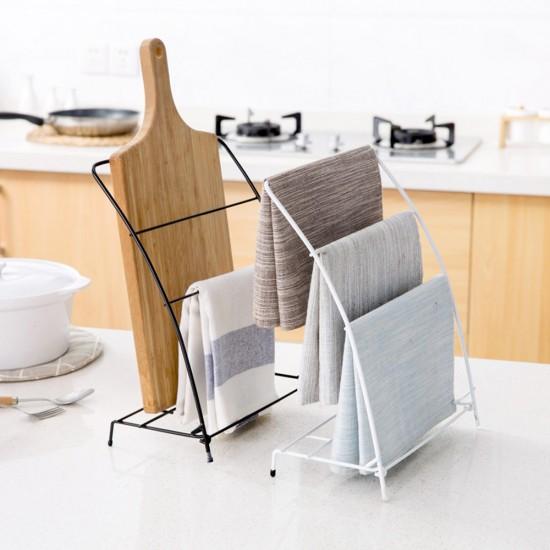 MyLifeUNIT Free Standing Kitchen Towel Rack Fingertip