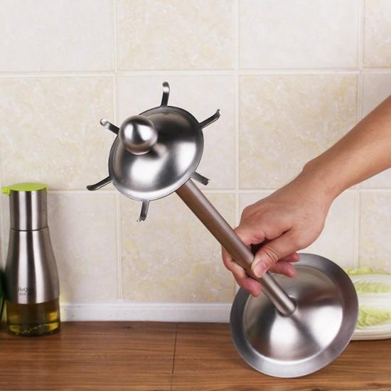carousel kitchen utensil holder soffit lighting mylifeunit organizer 360 degree rotating with six hooks