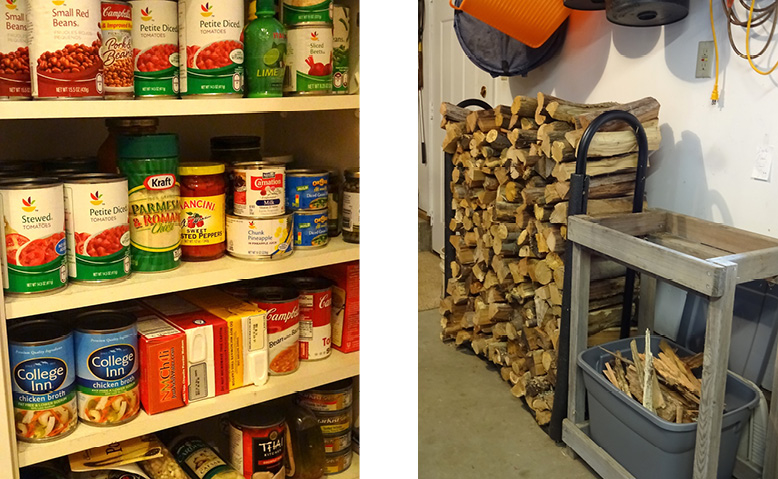 Combo Wood&Cupboard