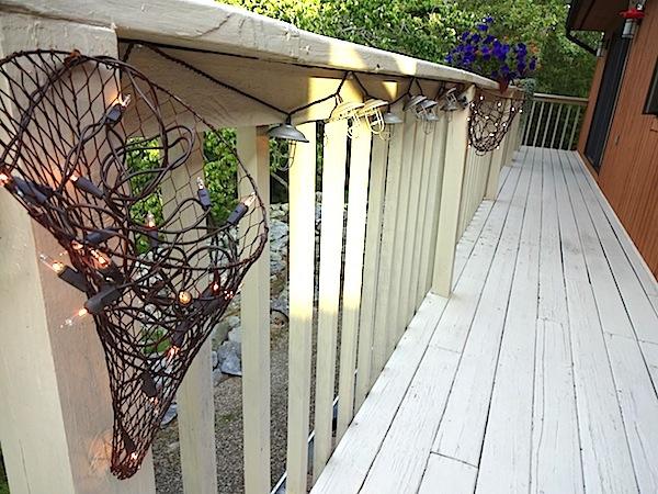 Wire Cornucopia Deck 888
