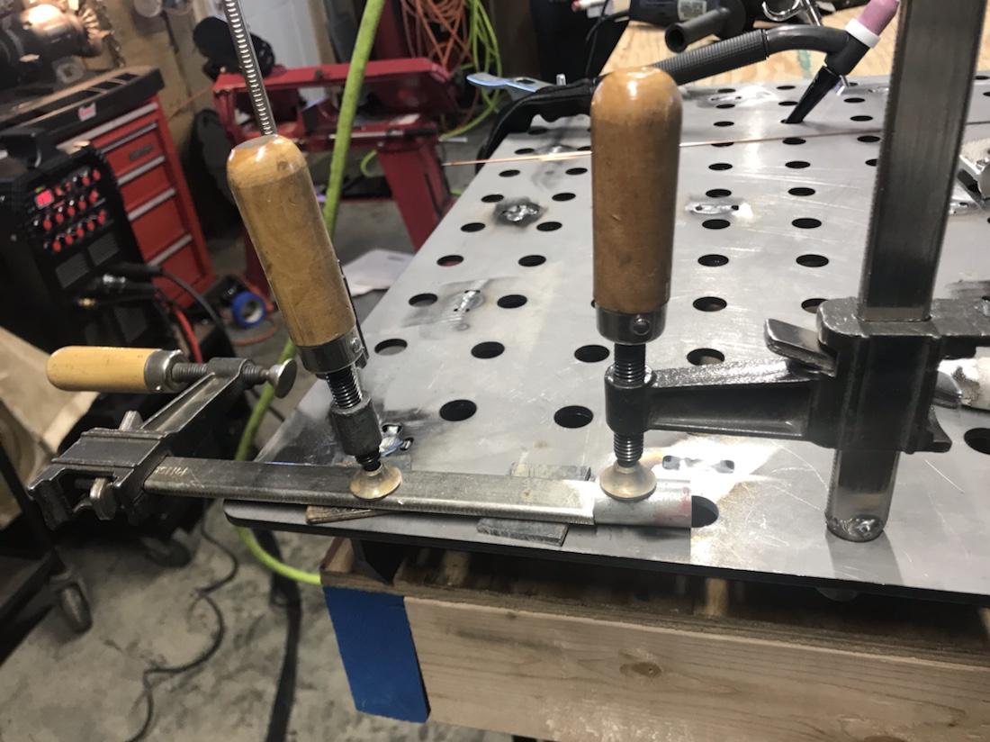 """Welding 5/8"""" rod for welding clamp"""