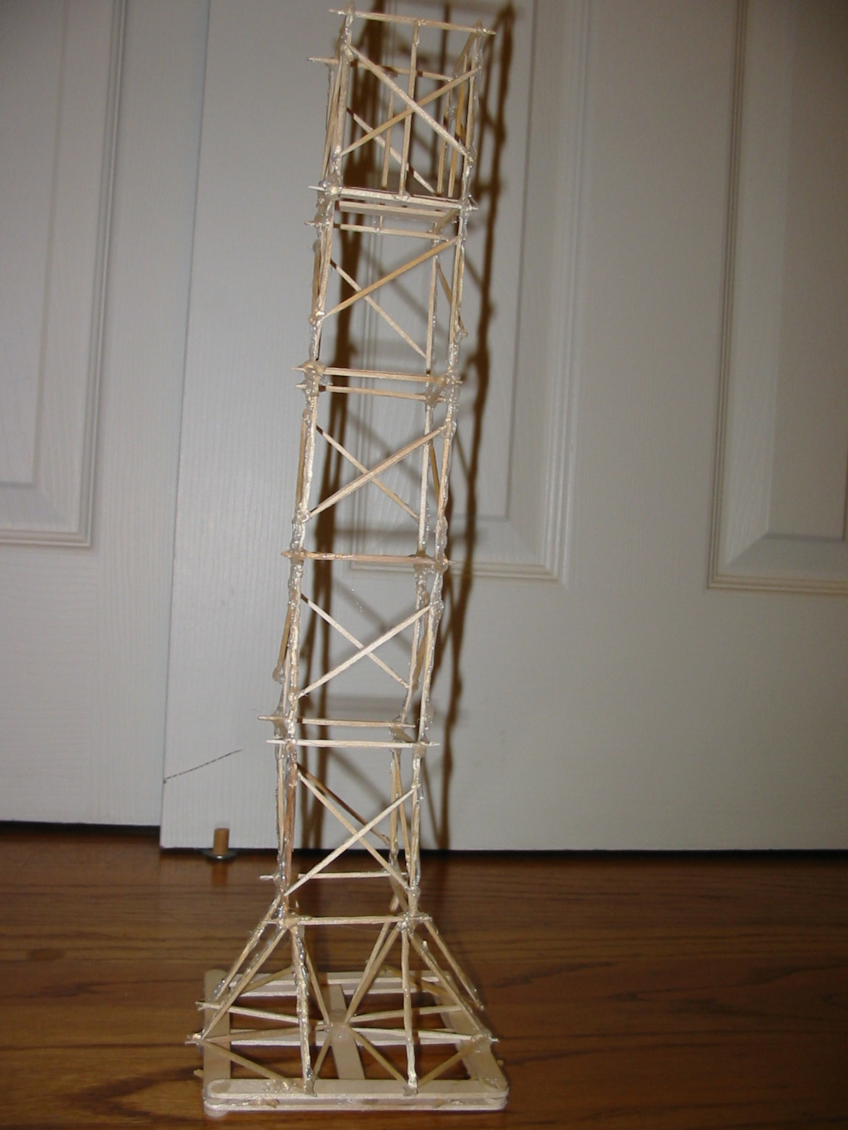 Earthquake Tower Toothpick Project