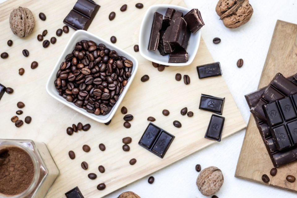 chocolate and coffee can be bladder irritants