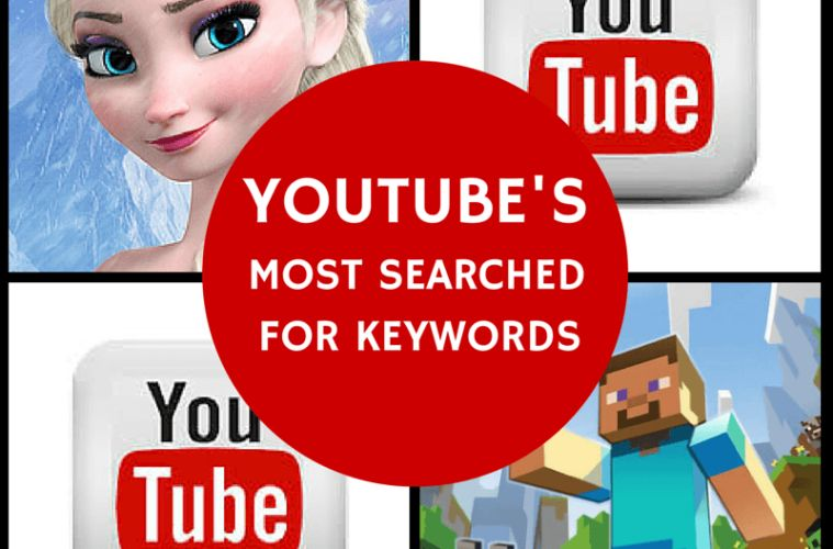 MUSIC, MINECRAFT, MOVIES: THE keywords MOST SEARCHED YOUTUBE