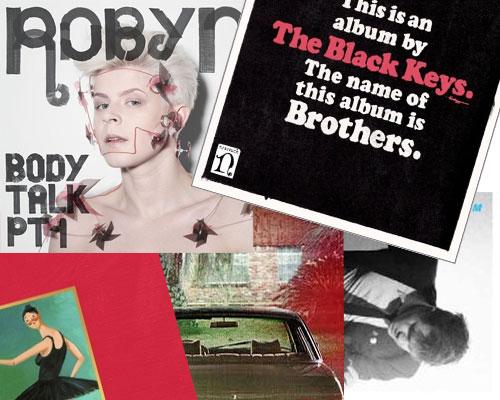 Top Pop Albums 2010