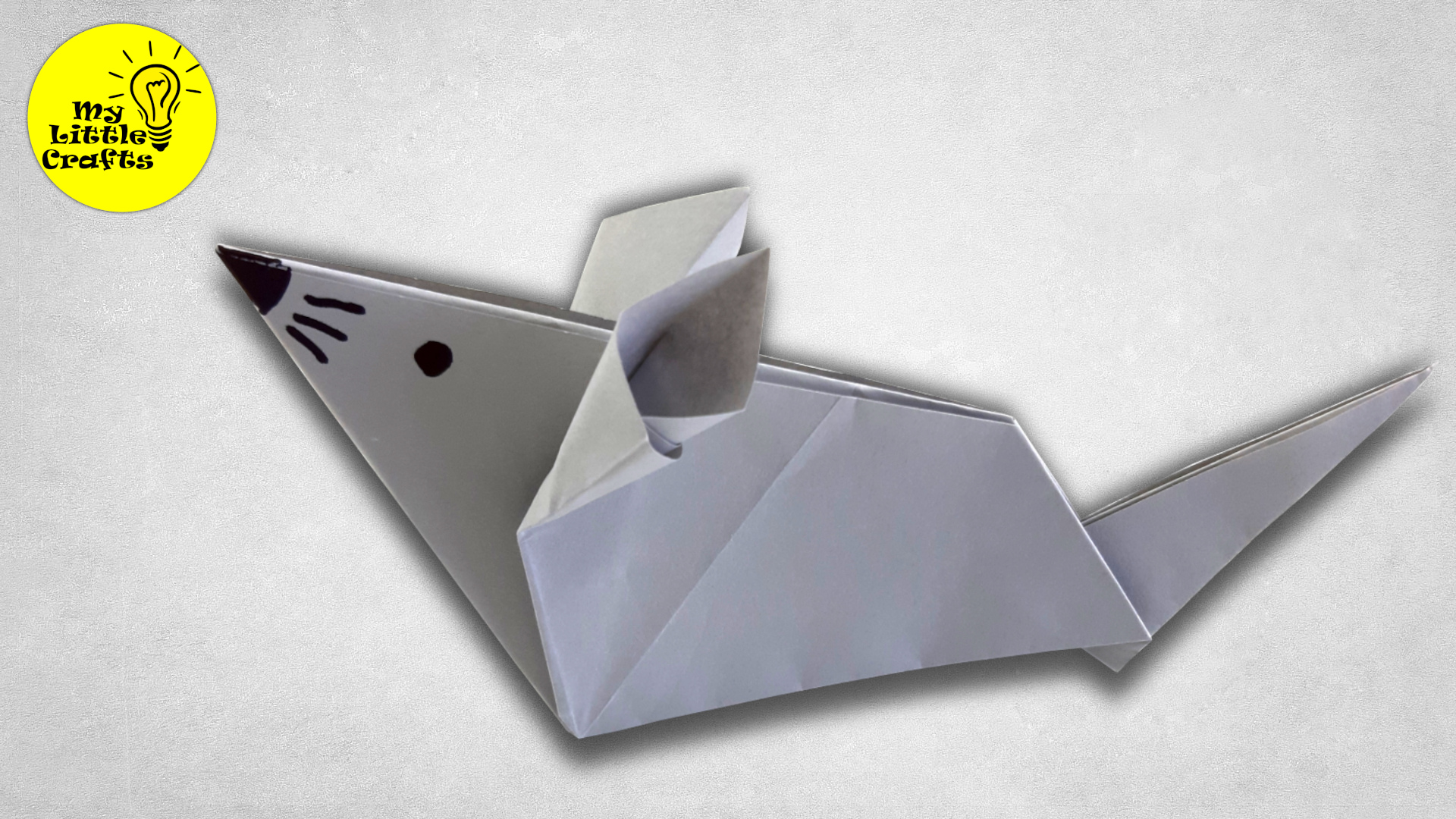 Origami mouse | how to make a paper mouse