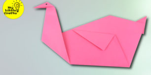 Origami Swan | How to make a paper swan