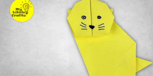 Origami cat | How to make a cat out of paper [ORIGAMI CAT TUTORIAL]