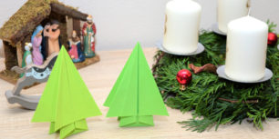 Origami Christmas Tree | How to make a tree out of paper