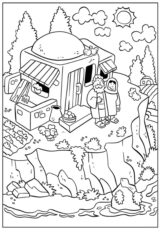 Bible Coloring Pages Simeon And Anna Coloring Pages