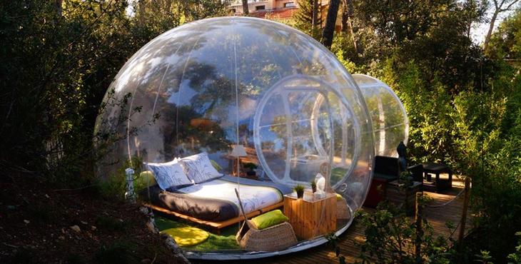 Attrap rves chambre dhte dans une bulle  Weekend  My Little Marseille