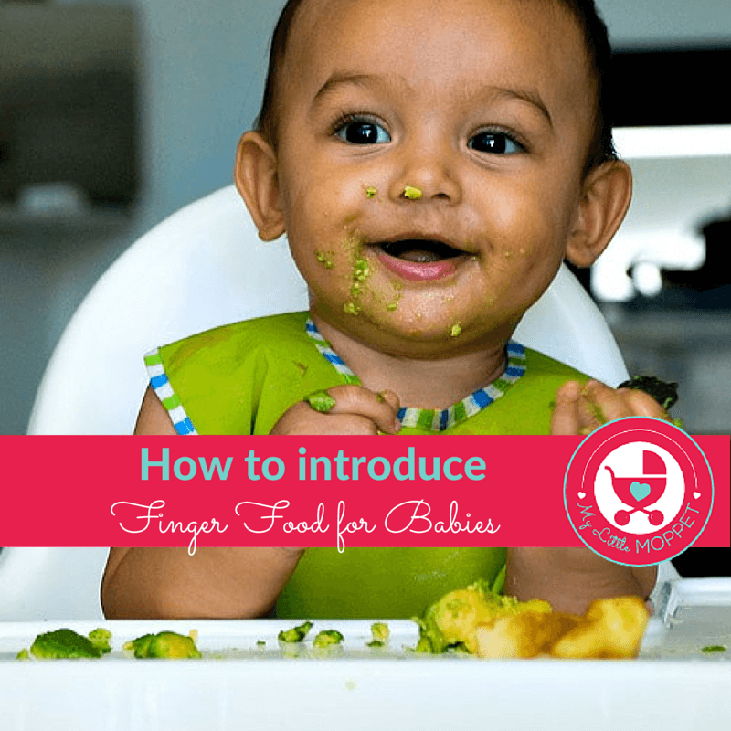 How To Introduce Finger Foods For Babies
