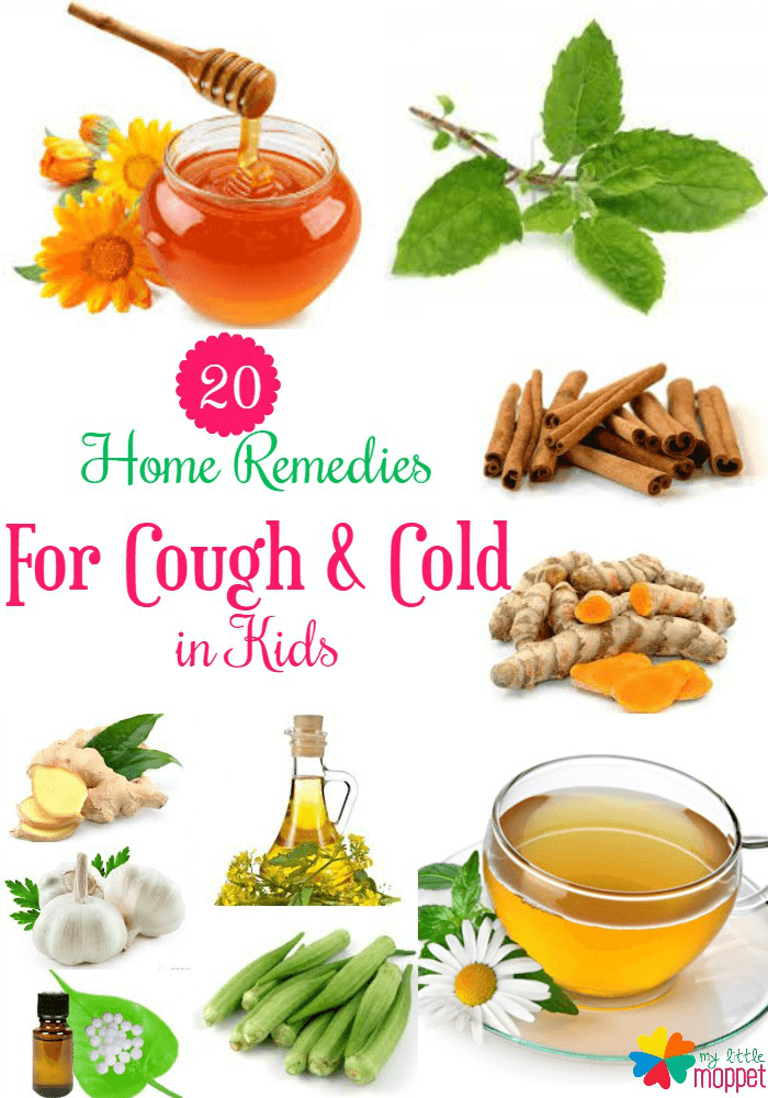 Home Remedies for Cough and cold for babies and toddlers