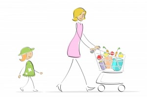 Attention and Learning by shopping