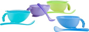 baby feeding bowls and spoons