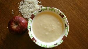 apple cereal baby porridge recipe