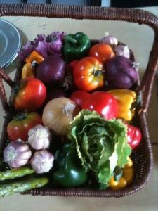 Winter health food for children