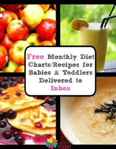 Monthly food chart for babies also free toddlers delivered by mail my rh mylittlemoppet