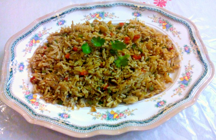 Kids friendly chinese fried rice recipe my little moppet forumfinder Images