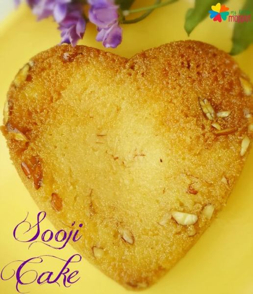 eggless sooji cake rava cake for kids