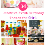 34 creative first birthday theme for girls