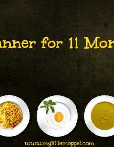 months baby meal planner  free download also my little moppet rh mylittlemoppet