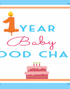 also year baby food chart rh mylittlemoppet