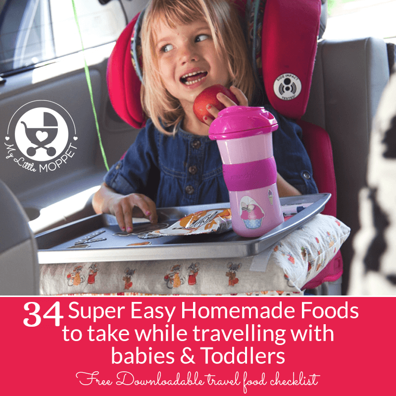 Homemade Food For Babies While Travelling