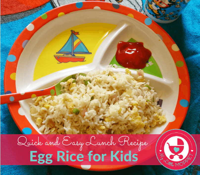 Egg rice egg rice quick and easy lunch recipe forumfinder Image collections