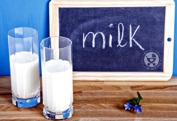 what milk to give during travel