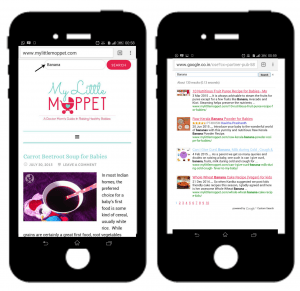 how to search in mobile in mylittlemoppet