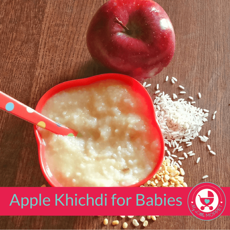 apple khichdi for Babies
