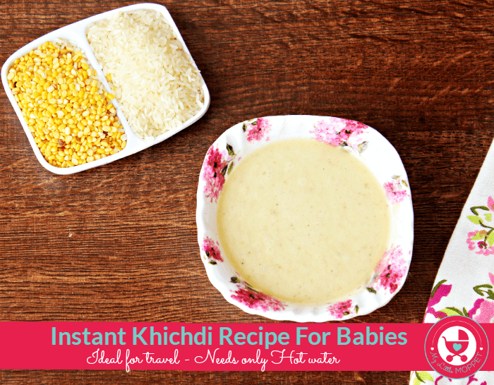 Instant khichdi mixinstant homemade rice cereal how to make instant khichdi for babies ccuart Image collections