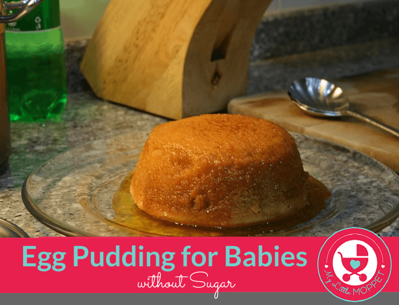 egg pudding for babies