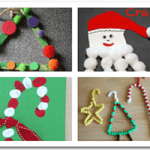 10 Easy Christmas Crafts for Toddlers