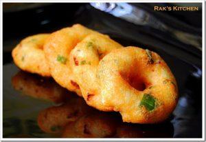 Medu Vada Recipe Raks Kitchen
