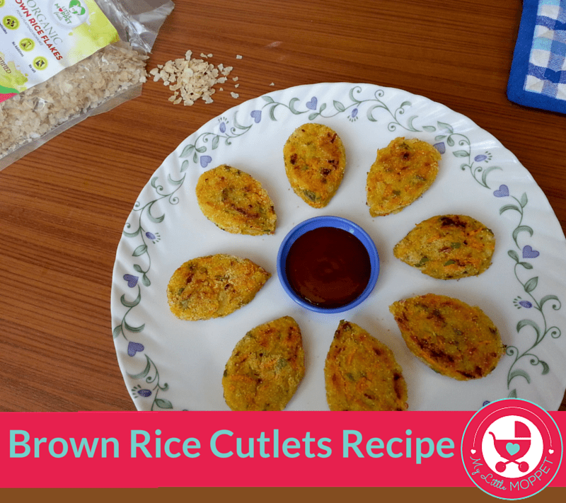 brown rice cutlets
