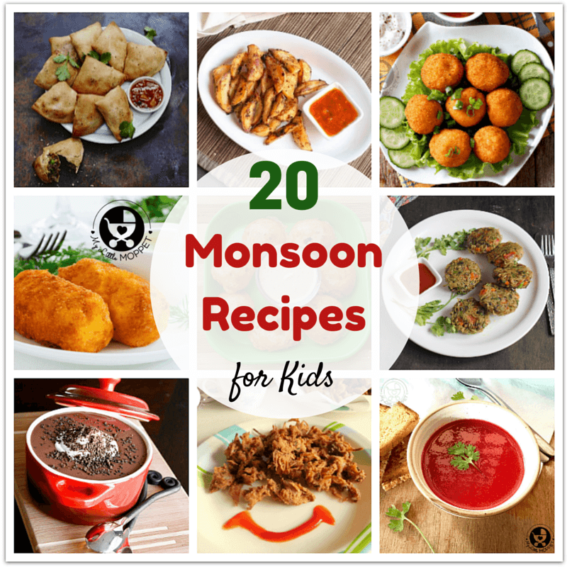 monsoon recipes for kids