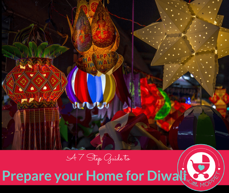 prepare your home for diwali