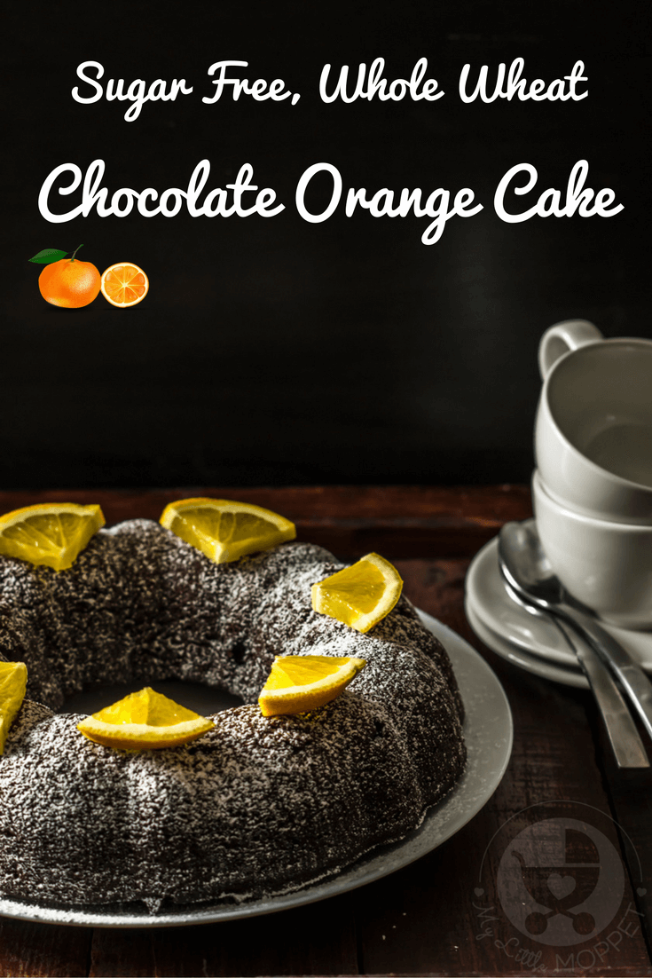 Healthy eating doesn't have to mean deprivation! Try our sugar free, whole wheat Chocolate Orange Cake to bring in the New Year!