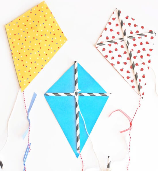 Easy Kite Crafts For Kids To Make
